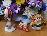 Отдается в дар Фигурки сувениры