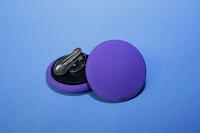 Клипсы круглые фиолетовые