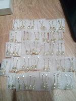 Отдается в дар Серьги-гвоздики 32 пары