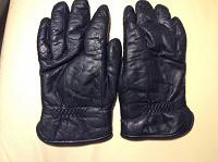 Отдается в дар Мужские перчатки тёплые кожаные