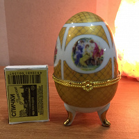 Отдается в дар Яйцо-шкатулка.