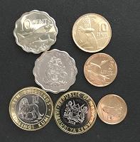 Отдается в дар Монеты со зверушками