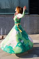 Отдается в дар Платье шикарное дизайнерское