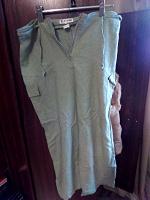 Отдается в дар Льняная юбка, размер 46