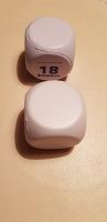 Отдается в дар 2 кубика из полиуретана