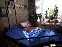 Отдается в дар ортопедическая кровать для лежачего больного