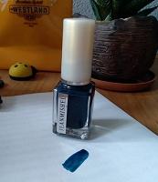 Отдается в дар Лак для ногтей синий