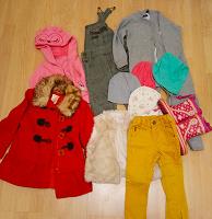Отдается в дар Одежда детская пакетом