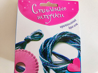 Отдается в дар Рукоделие — плетение браслета
