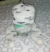 Отдается в дар Шапка детская вязаная (шерсть)