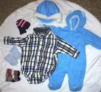 Отдается в дар Вещи детские в т.ч. теплые 0-3мес