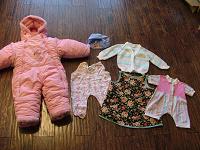 Отдается в дар Одежда для девочек от 0 до 5 лет