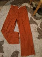 Отдается в дар Расклешеные джинсы. Zara woman. Eur 38.
