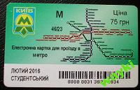 Отдается в дар Киев. Проездные на метро, в коллекцию