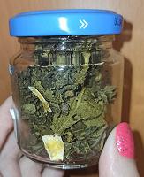 Отдается в дар Зелёный чай с цедрой лимона