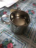 Отдается в дар чашечка -термос металл