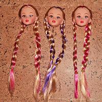 Отдается в дар Кукольные головы типа Барби