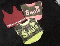Отдается в дар футболочки на девочку-подростка