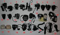Отдается в дар Зарядные устройства для разных телефонов и смартфонов
