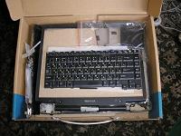 Отдается в дар Старый разобранный ноутбук