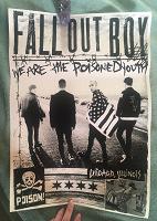 Отдается в дар Плакат Fall Out Boy