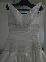 Отдается в дар Свадебное платье 38-40размер