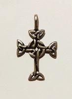 Отдается в дар Кельтский крест. Серебро