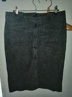 Отдается в дар Юбка джинсовая 46 размера