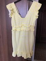 Лимонное платье 14/42 размера, нюанс