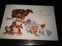 Отдается в дар открытка В. Четверикова