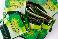 Отдается в дар чай зеленый гринфилд в пакетиках