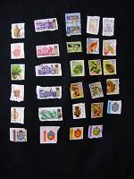Отдается в дар марки-стандарты с конвертов