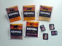 Отдается в дар Чайные пакетики и ярлычки Кеника