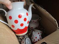 Отдается в дар Чайный или кофейный сервиз маленький