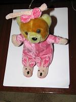 Отдается в дар Плюшевая медвежонка