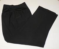 Отдается в дар женские брюки с трикотажной вставкой на поясе. Размер 56