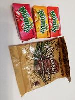 Отдается в дар Орехи и жевательные конфеты