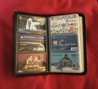 Отдается в дар Визитница с пластиковыми картами