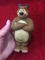 Отдается в дар Резиновый медведь из мультика «Маша и и медведя»