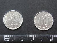 Отдается в дар Финская монетка