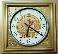 Отдается в дар Часы настенные из СССР корпус — дерево