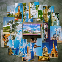 Отдается в дар Набор открыток КАЗАНЬ