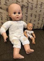 Отдается в дар Кукла бебиборн + пупс