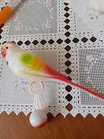Отдается в дар Игрушка попугайчик