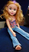Отдается в дар Кукла моднявая