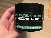 Отдается в дар Порошок 60 g для отбеливания зубов из активированного угля и кокоса