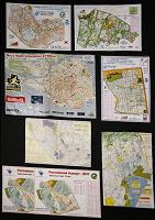 Отдается в дар Карты для ориентирования А4