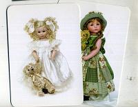 Отдается в дар карманные календарики.куклы.