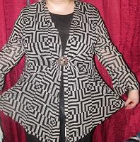 Отдается в дар блуза-туника большого размера