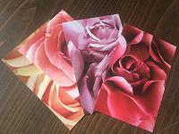Отдается в дар Открытки розы